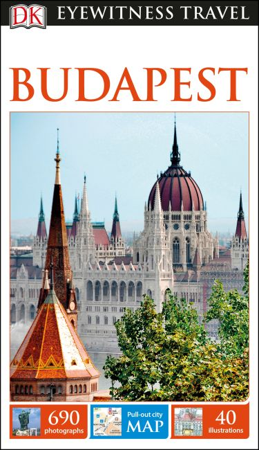 Flexibound cover of DK Eyewitness Budapest