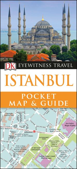 Paperback cover of DK Eyewitness Istanbul Pocket Map and Guide