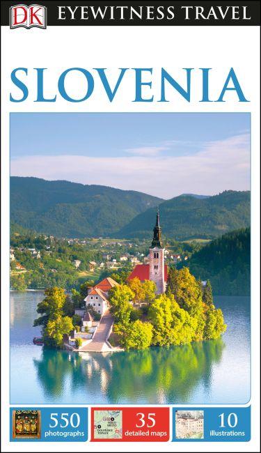 Flexibound cover of DK Eyewitness Slovenia