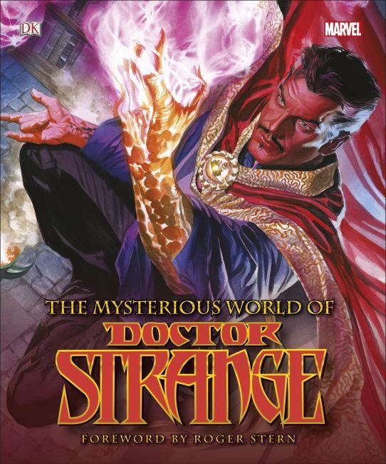 Hardback cover of The Mysterious World of Doctor Strange