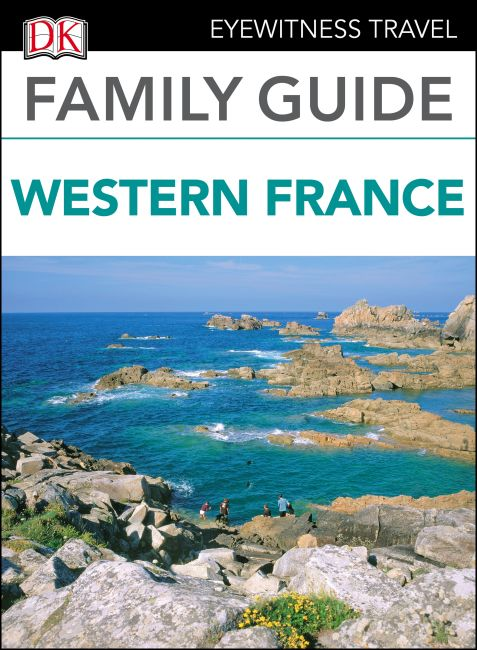 eBook cover of DK Eyewitness Family Guide Western France