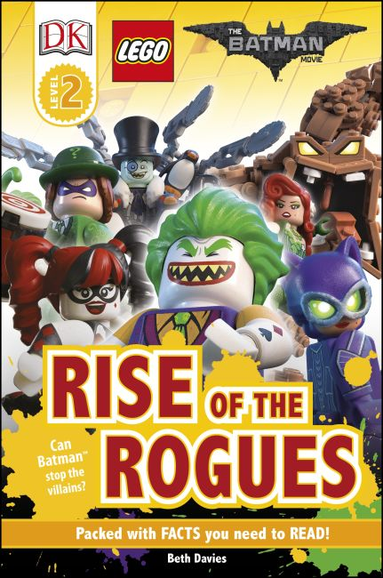Hardback cover of The LEGO® BATMAN MOVIE Rise of the Rogues