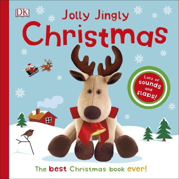Board book cover of Jolly Jingly Christmas