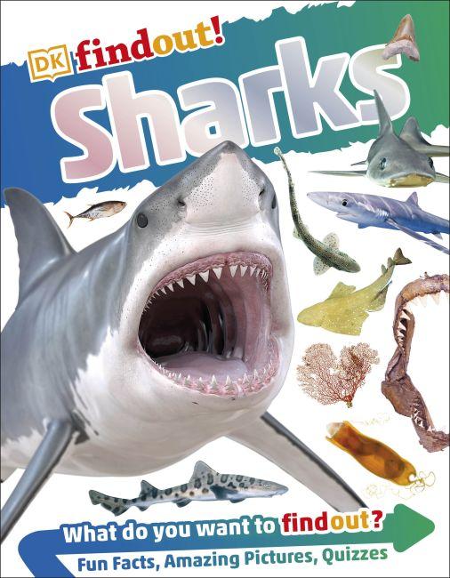 Flexibound cover of DKfindout! Sharks