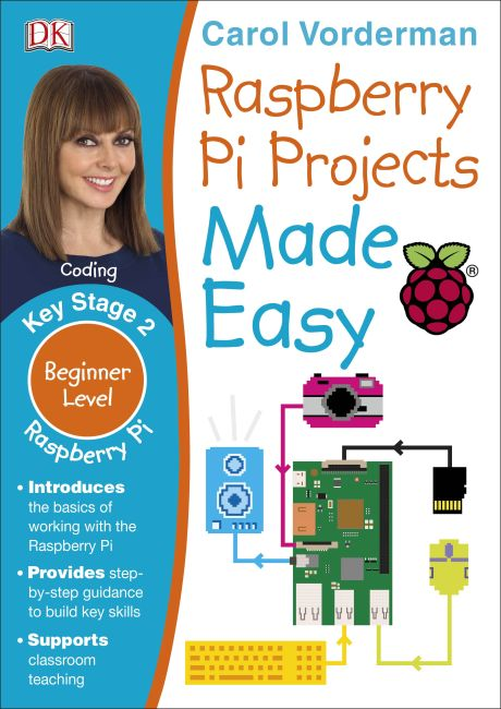 Paperback cover of Raspberry Pi Made Easy