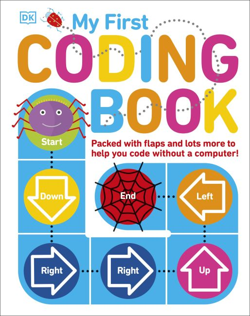Board book cover of My First Coding Book