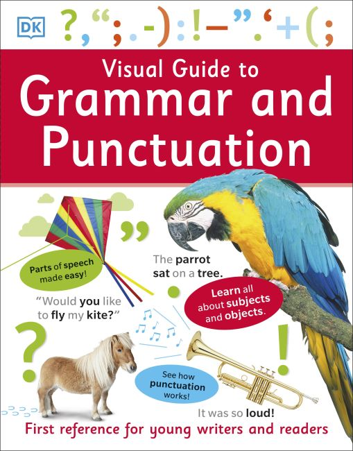 Paperback cover of Visual Guide to Grammar and Punctuation