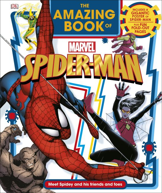Hardback cover of The Amazing Book of Marvel Spider-Man
