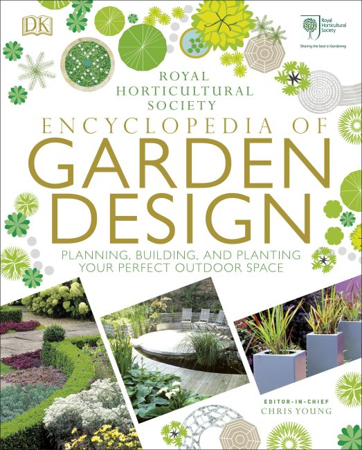 Hardback cover of RHS Encyclopedia of Garden Design