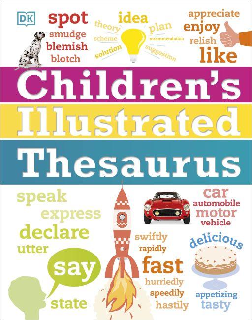 Hardback cover of Children's Illustrated Thesaurus