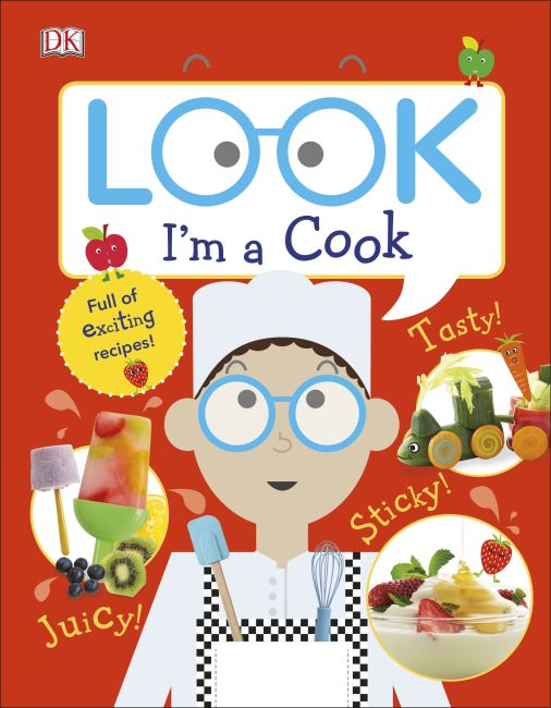 Hardback cover of Look I'm a Cook
