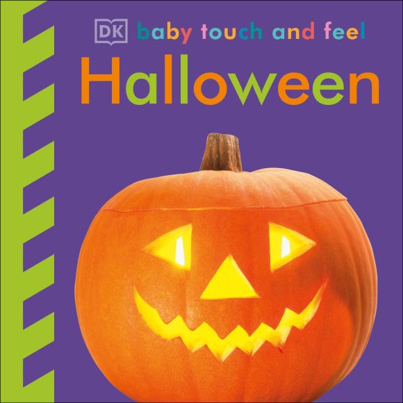 Board book cover of Baby Touch and Feel Halloween