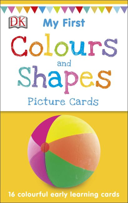 Cards cover of My First Colours & Shapes