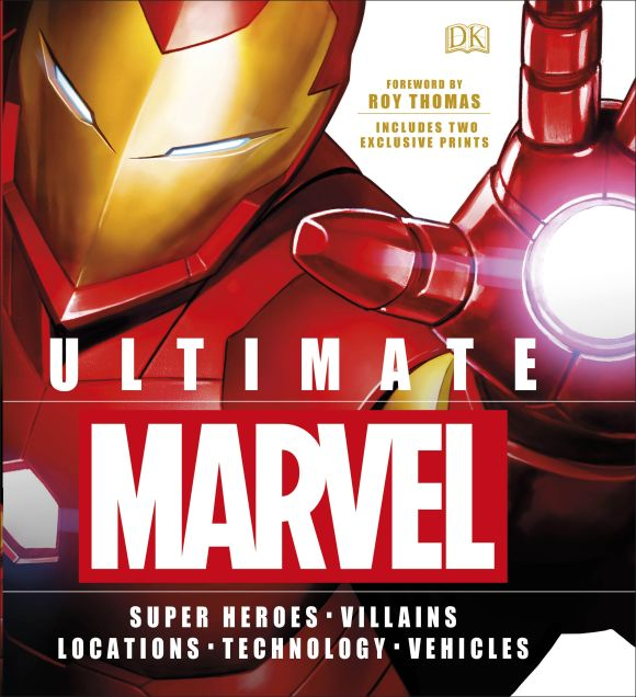 Hardback cover of Ultimate Marvel