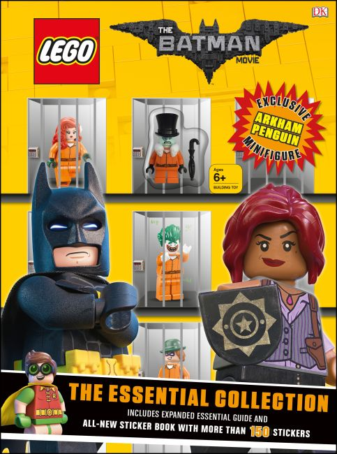 Paperback cover of The LEGO® BATMAN MOVIE The Essential Collection