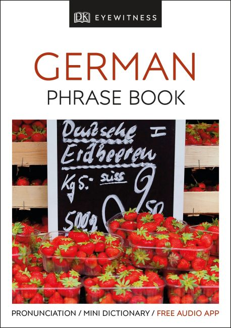 Paperback cover of Eyewitness Travel Phrase Book German