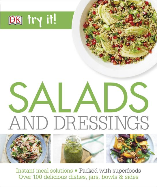 Paperback cover of Salads and Dressings