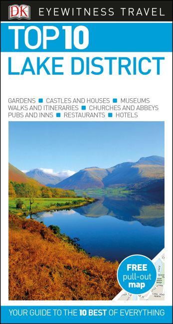 Paperback cover of DK Eyewitness Top 10 Lake District