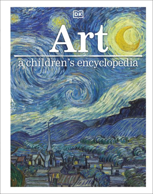 Hardback cover of Art A Children's Encyclopedia