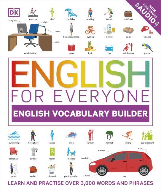 Hardback cover of English for Everyone English Vocabulary Builder