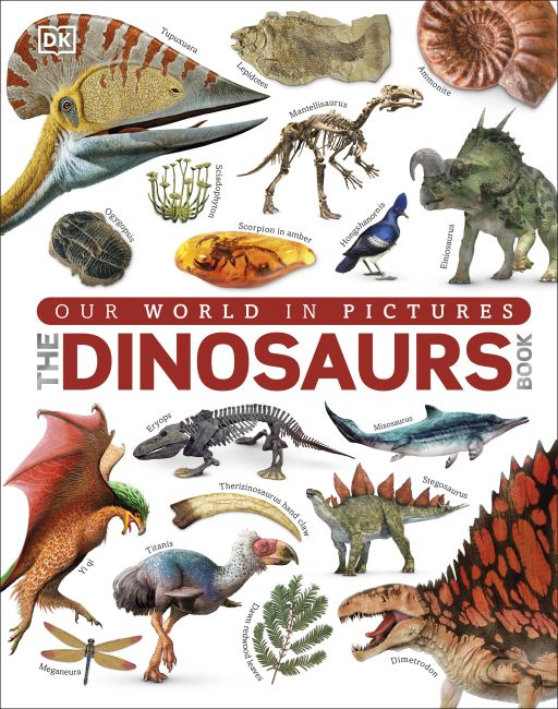 Hardback cover of The Dinosaurs Book