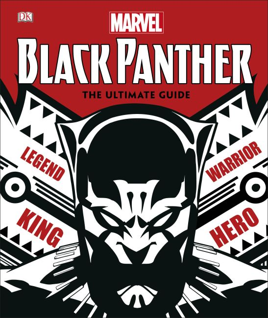 Hardback cover of Marvel Black Panther The Ultimate Guide