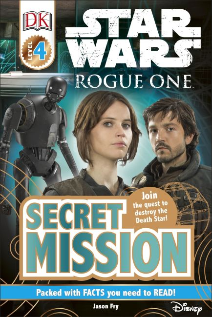 eBook cover of Star Wars Rogue One Secret Mission