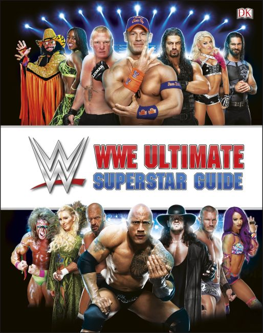 Hardback cover of WWE Ultimate Superstar Guide, 2nd Edition