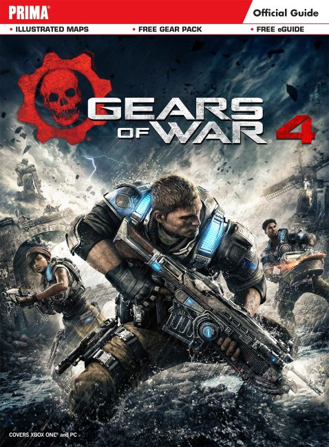 eBook cover of Gears of War 4