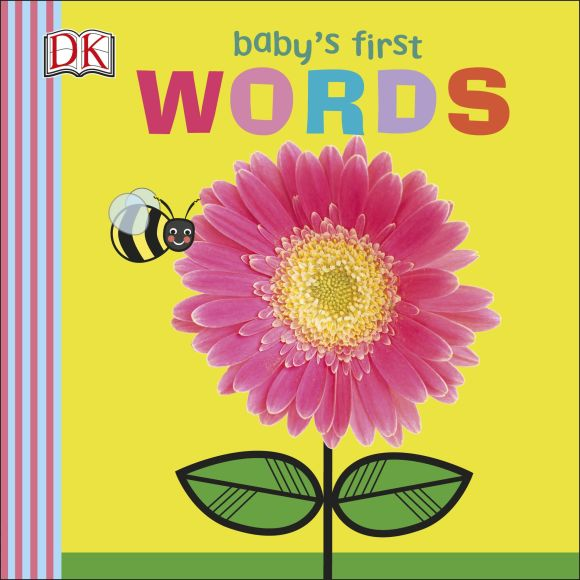 Board book cover of Baby's First Words