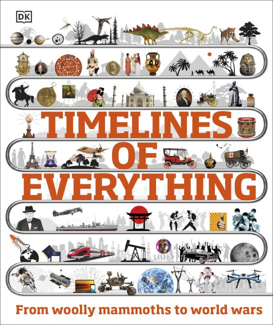 Hardback cover of Timelines of Everything