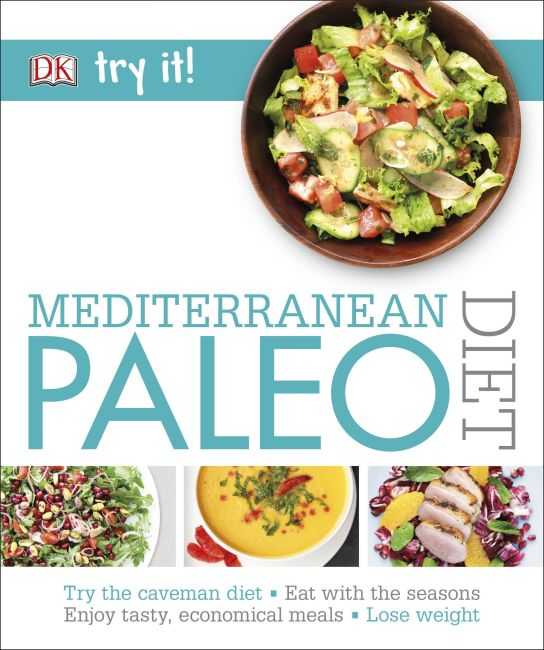 eBook cover of Mediterranean Paleo Diet