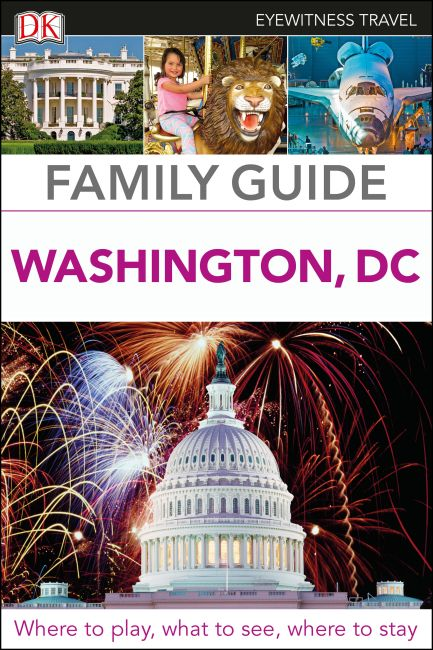 Flexibound cover of DK Eyewitness Family Guide Washington, DC