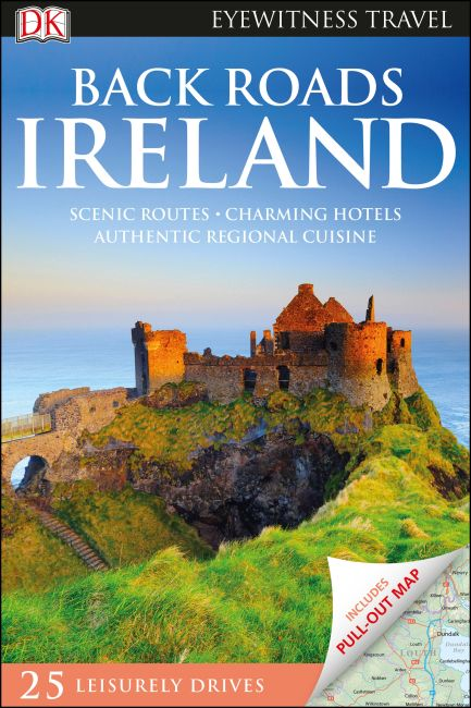 Hardback cover of DK Eyewitness Back Roads Ireland