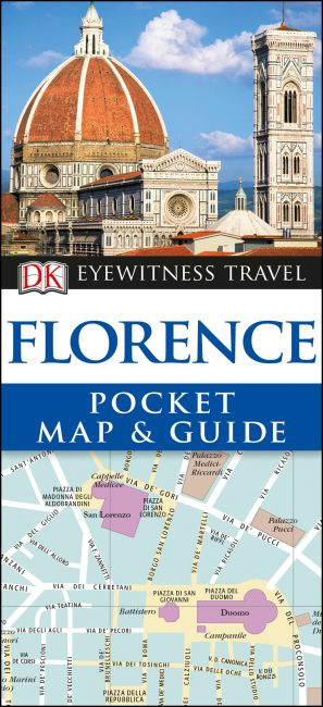 Paperback cover of DK Eyewitness Florence Pocket Map and Guide
