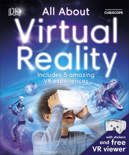 Hardback cover of All About Virtual Reality