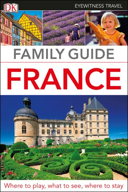 Flexibound cover of DK Eyewitness Family Guide France