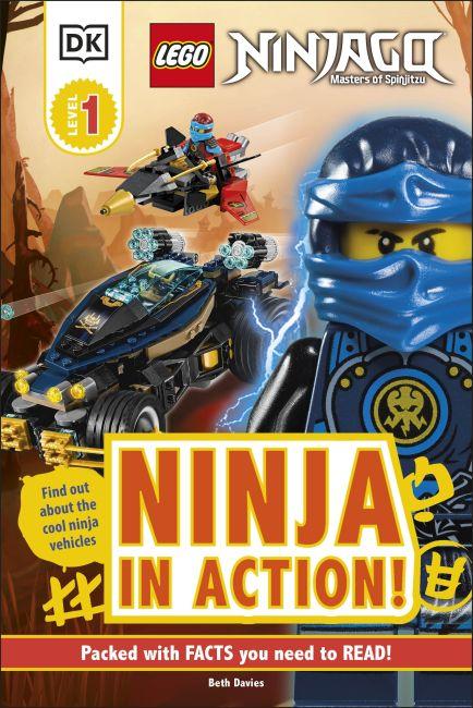 Hardback cover of LEGO NINJAGO Ninja in Action!