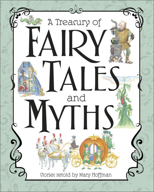 Slipcase of Editions cover of A Treasury of Fairy Tales and Myths