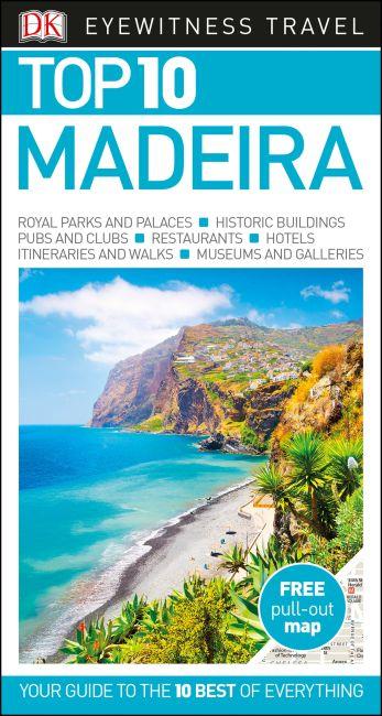 Paperback cover of DK Eyewitness Top 10 Madeira