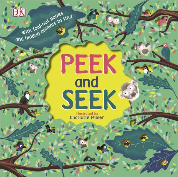 Board book cover of Peek and Seek