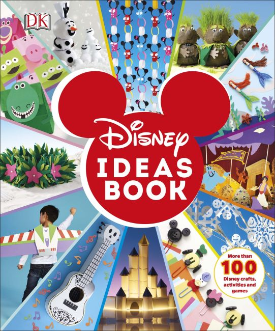 Hardback cover of Disney Ideas Book