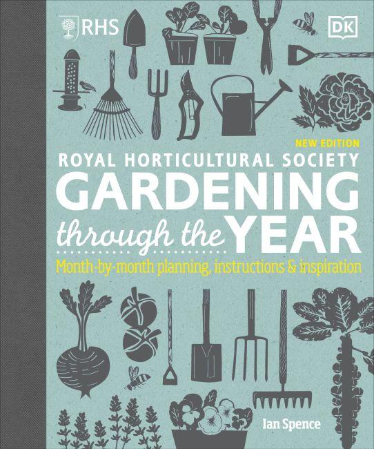 Hardback cover of RHS Gardening Through the Year