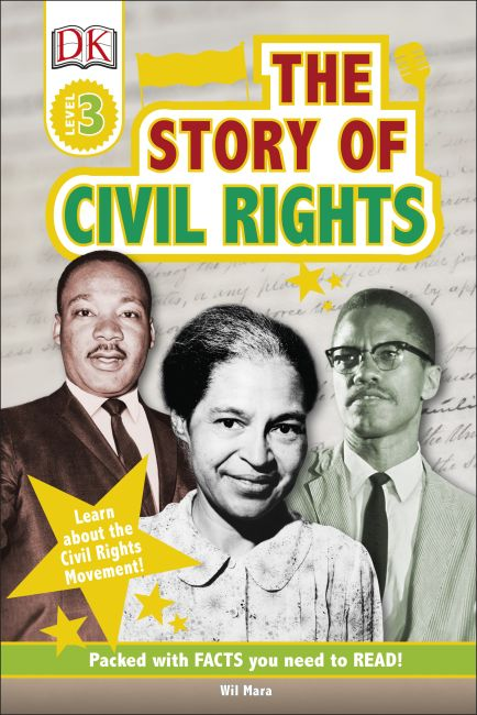 Hardback cover of The Story Of Civil Rights
