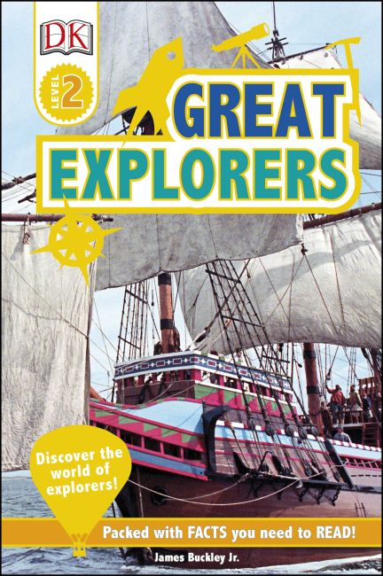 Hardback cover of Great Explorers