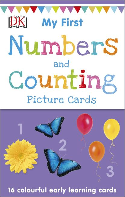 Cards cover of My First Numbers and Counting