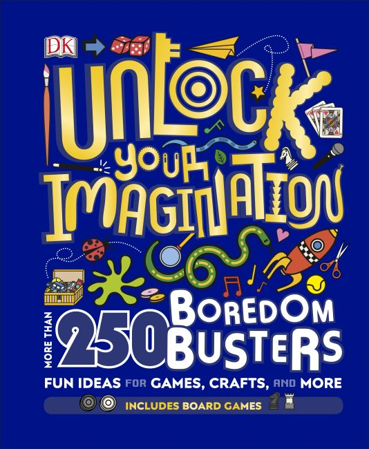 Hardback cover of Unlock Your Imagination