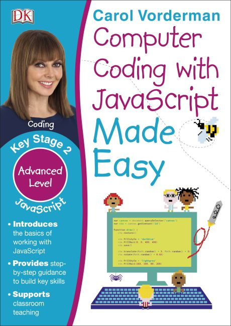 Paperback cover of Computer Coding with JavaScript Made Easy