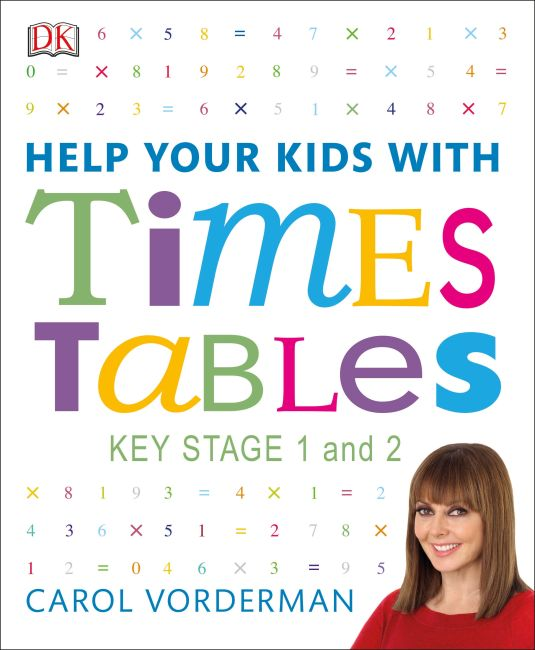 Flexibound cover of Help Your Kids With Times Tables