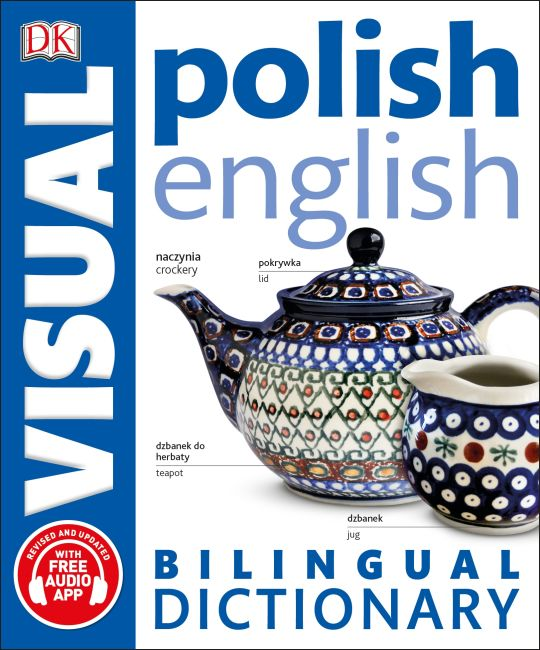 Paperback cover of Polish-English Bilingual Visual Dictionary